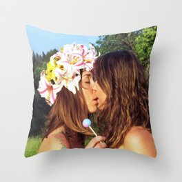 Here Today, Gone Tomorrow  Throw Pillow