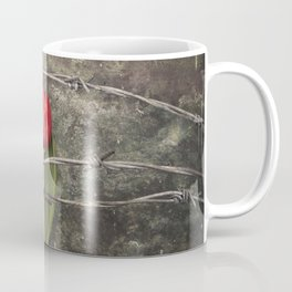 Tulip and barbed wire Coffee Mug