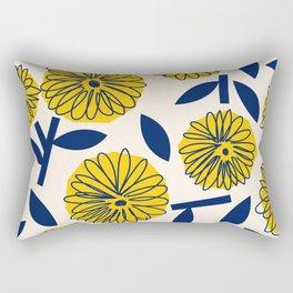 Floral_blossom Rectangular Pillow