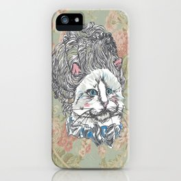 Meowrie Antoinette iPhone Case