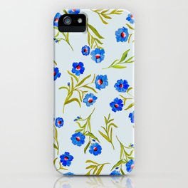 FRENCH BLUE iPhone Case