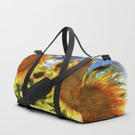 Sunflowers Vincent Van Goth Duffle Bag