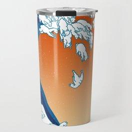Llama Waves Travel Mug