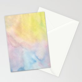 More Splashes of Pastel Shades Stationery Cards
