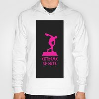 sports Hoodies featuring extreme sports by Emekli Astronot