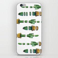 cactus art iPhone & iPod Skin