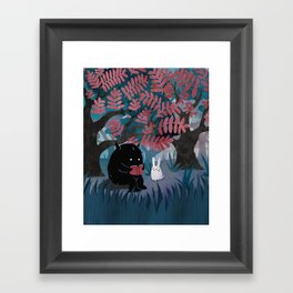 Another Quiet Spot Framed Art Print