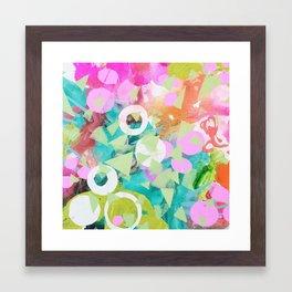 Floral one. Framed Art Print
