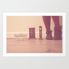 To be in Wonderland Art Print