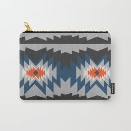 Wintry ethnic pattern Carry-All Pouch