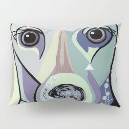 Dachshund in Denim Colors Pillow Sham