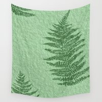 fern Wall Tapestries featuring Fern by Mr and Mrs Quirynen