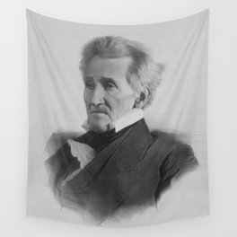 President Andrew Jackson Wall Tapestry