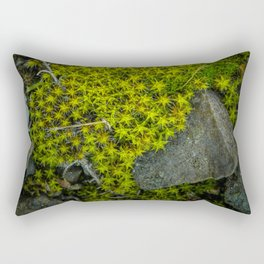 The tiny green forest Rectangular Pillow