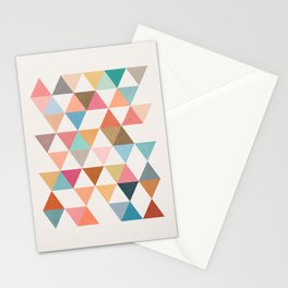 Triangles 5 Stationery Cards