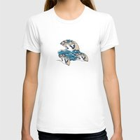 oriental T-shirts featuring Oriental FanTasy by Paula Belle Flores