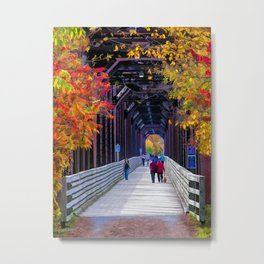 Heading South Metal Print