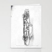 muscle Stationery Cards featuring Muscle Car by Fernando Vieira