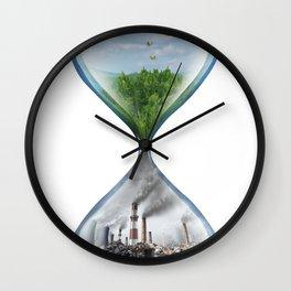 Climate Change Environmental Global Warming Wall Clock