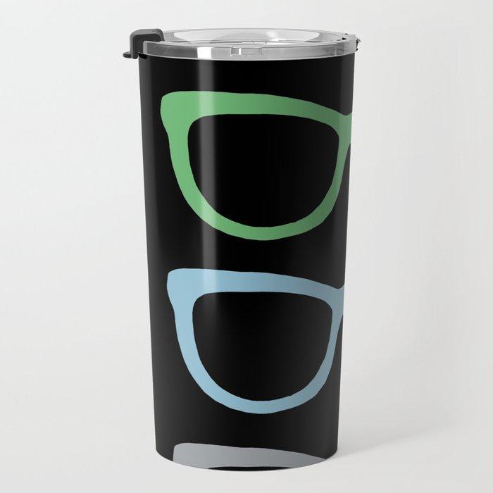 Sunglasses at Night Travel Mug
