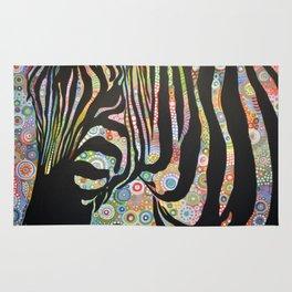 Abstract Art Animal Zebra Painting ... Urban Jungle Rug