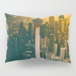 Golden Light Cityscape (Color) Pillow Sham