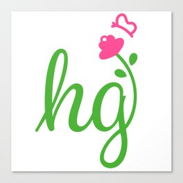 HG Sisterhood Logo Canvas Print