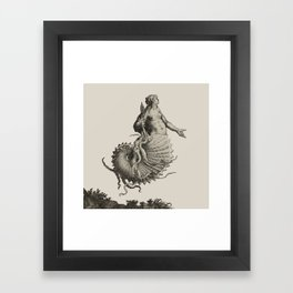 The Siren Framed Art Print