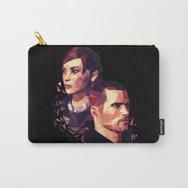 Facets of Shepard Carry-All Pouch