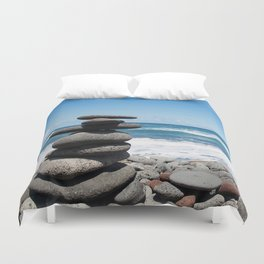 Rock tower Duvet Cover