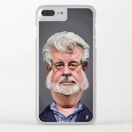 George Lucas Clear iPhone Case