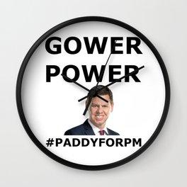 Patrick Gower Wall Clock
