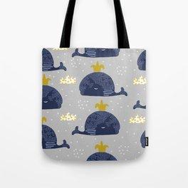 Cute whale Tote Bag