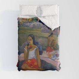"""Paul Gauguin """"Nave Nave Moe - Sacred Spring Sweet Dreams"""" Duvet Cover"""