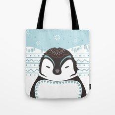 Messer Pinguino Tote Bag