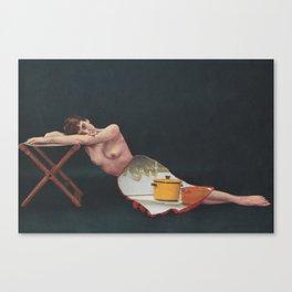Working Women (1) Canvas Print
