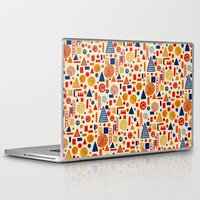 child Laptop & iPad Skins featuring Sunday's Child by Marcelo Romero