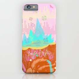HEART FREQUENCY iPhone Case