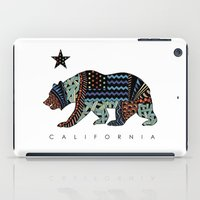 california iPad Cases featuring California by TAM ♡