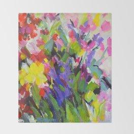 Garden Melody Throw Blanket