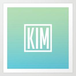 KIM Art Print