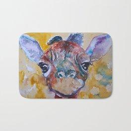 Giraffe Baby Bath Mat