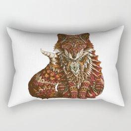 Red Fox (Color Version) Rectangular Pillow