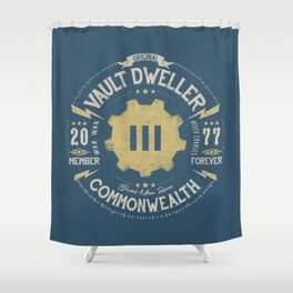 Vault 111 Member Forever Shower Curtain