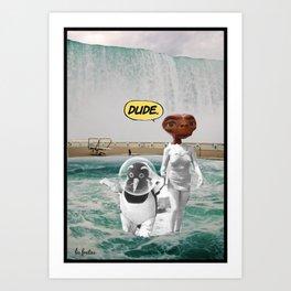 _DUDE Art Print