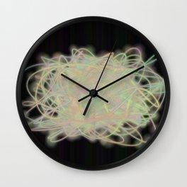 Electric Yarn Ball Wall Clock