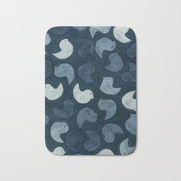 Little Blue Birds Bath Mat