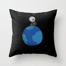 Moon Cycle Throw Pillow