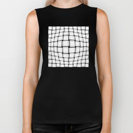 intertwined bands Biker Tank