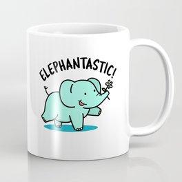 Elephantastic Cute Elephant Pun Coffee Mug